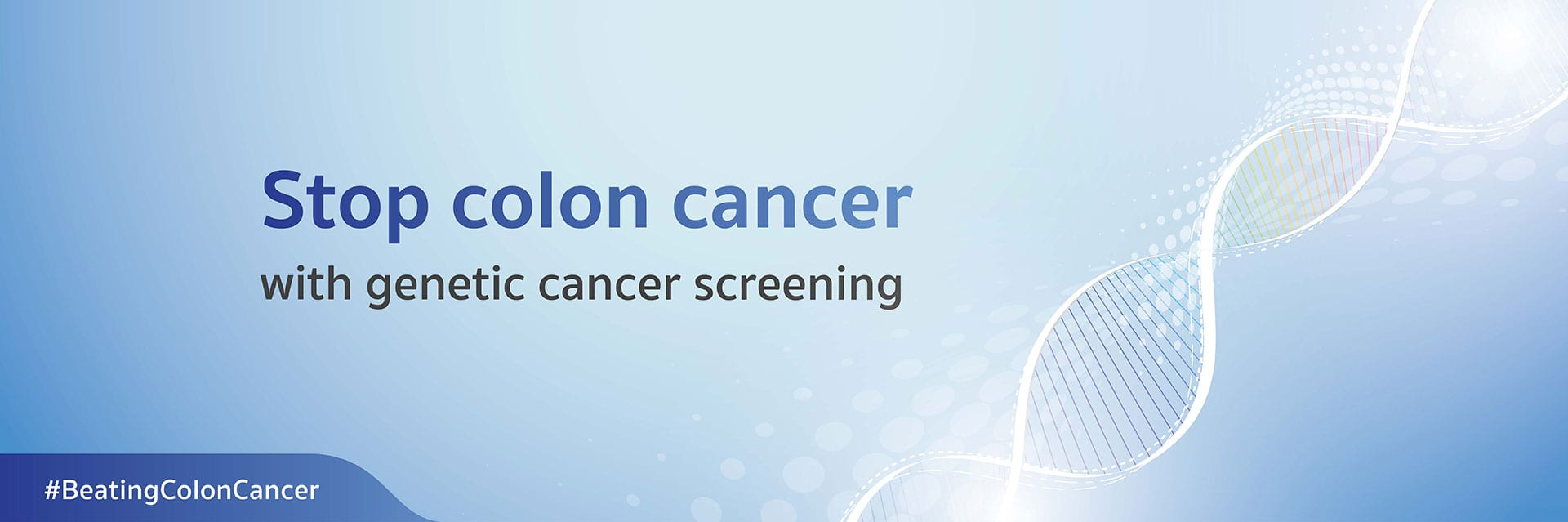 Stop colon cancer with genetic cancer screening