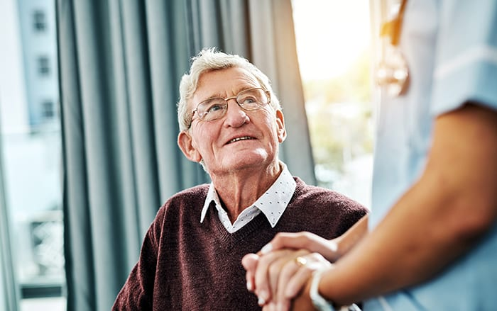 Home care program preparation for neurological patients