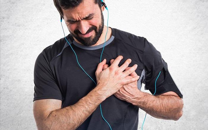 Running-related heart attacks