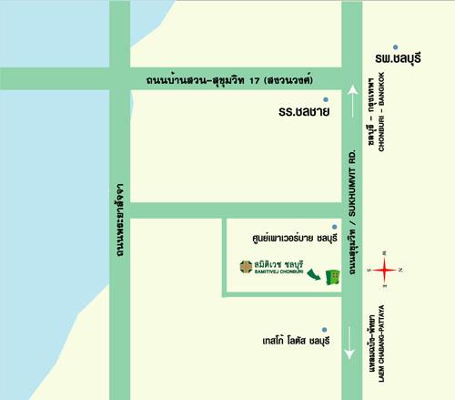 clinic chon map