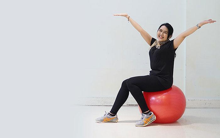 การออกกำลังกายและประเมินความเสี่ยงต่อการพลัดตกหกล้ม