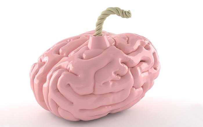โรคหลอดเลือดสมองตีบ