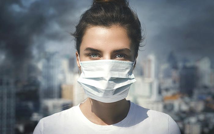 PM 2.5 กระตุ้นสิวและผิวแพ้ง่าย