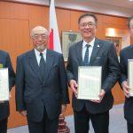佐渡島大使表敬訪問時の写真