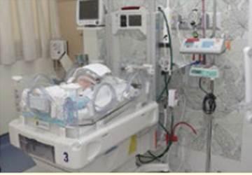サミティヴェート病院スクムビットの新生児集中治療室(NICU)