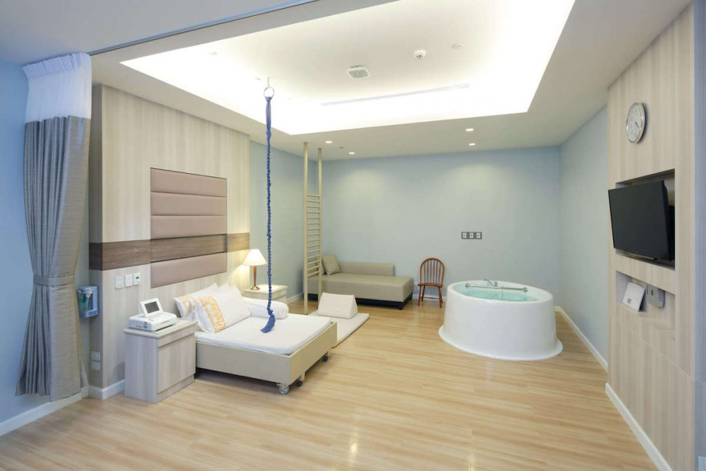 サミティベート病院アクティブバース室 分娩室