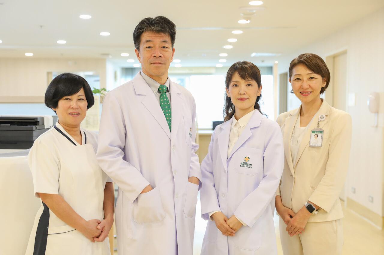 日本人医師・看護師チーム