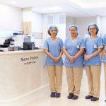 内視鏡室の看護師・技師も佐野病院へ研修に行っています